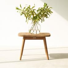 Bàn outdoor side table Bush gỗ sồi