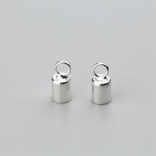 Charm bạc chụp đầu dây 3mm - Ngọc Quý Gemstones