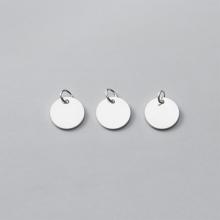 Charm bạc hình tròn treo - Ngọc Quý Gemstones