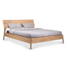 Giường đôi Shrub gỗ sồi 1m8 cozino