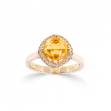 Nhẫn đá màu DOJI vàng 14K NA893-YG