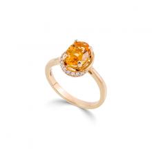 Nhẫn đá màu DOJI vàng 14K NA744-YG