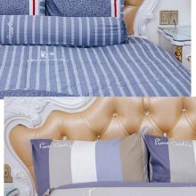 Bộ drap cotton Pierre Cardin 180 x 200 x 25cm