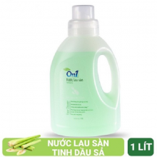 Nước lau sàn On1 tinh dầu sả 1 lít - LC101
