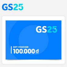 Phiếu quà tặng GS25 100.000 VNĐ