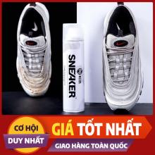 Bình xịt bọt tuyết vệ sinh giày Sneaker tẩy trắng, tẩy ố vàng Sneaker