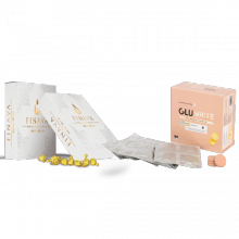 Combo GluWhite và Essence Finava - Trắng da toàn diện
