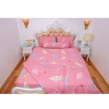 Chăn chần gòn lá hồng 200x220cm cotton cao cấp Pierre Cardin
