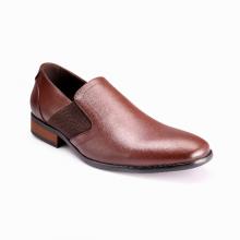 Giày công sở nam Bata da tổng hợp cao cấp-Microfiber Nâu - 811-4705