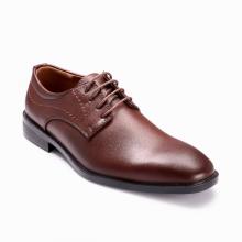 Giày công sở nam Bata  Da tổng hợp cao cấp-Microfiber Nâu - 821-4030