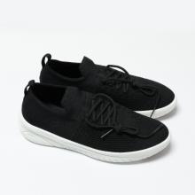 Giày đi bộ nữ Bata Vải dệt cao cấp màu Đen - 559-6911