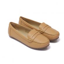 Giày đi bộ nữ Bata Da tổng hợp màu Nude - 551-3957