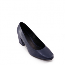 Giày công sở nữ Thương hiệu Bata  Da tổng hợp cao cấp-Microfiber màu Xanh Navy - 711-9105