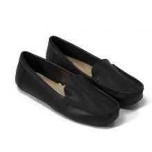 Giày đi bộ nữThương hiệu Bata Da tổng hợp màu Đen - 551-6881