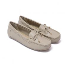 Giày đi bộ nữ Thương hiệu Bata Da tổng hợp màu Xám - 551-2826
