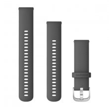 Dây thay thế Garmin Quick Release Band (22 mm), Shadow Gray-Stainless