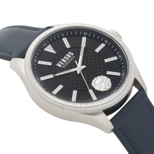 Đồng hồ Nam Versus VSPHI0120 cao cấp chính hãng bảo hành toàn cầu - Máy Pin - Dây da màu đen