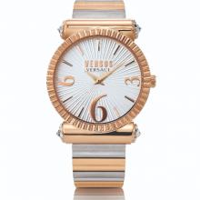 Đồng hồ Nữ Versus VSP1V1119 cao cấp chính hãng bảo hành toàn cầu - Máy Pin - Dây thép màu demi vàng hồng- trắng