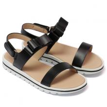 Sandal trẻ em Thương hiệu Bata Da tổng hợp màu Đen - 361-6659