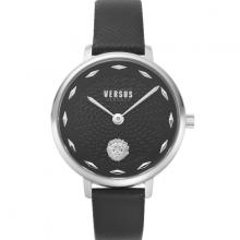 Đồng hồ Nữ Versus VSP1S0119 cao cấp chính hãng bảo hành toàn cầu - Máy Pin - Dây da màu đen