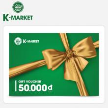 Phiếu quà tặng K-Market 50k