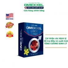Viên uống tăng cường sinh lý và sức khỏe nam giới Omexxel Libido (30 viên)
