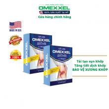 Combo 2 hộp viên uống bổ khớp,ngăn ngừa thoái hóa khớp Omexxel Arthri 60 viên