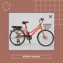 Xe đạp trợ lực điện Wiibike Summer - Đỏ - Size 24