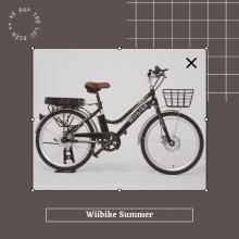 Xe đạp trợ lực điện Wiibike Summer - Đen - Size 24