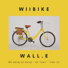 Xe đạp trợ lực điện Wiibike Wall.E 60 - Vàng