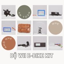 Bộ Wii E-Bike Kit, Pin 7x4, Líp tầng