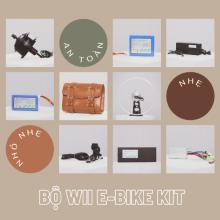 Bộ Wii E-Bike Kit, Pin 7x6, Líp tầng