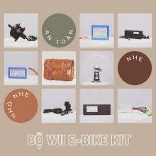 Bộ Wii E-Bike Kit, Pin 7x6, Líp đơn