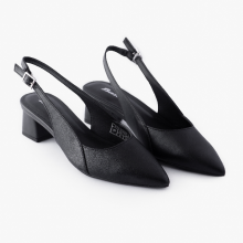Giày công sở nữ  Bata Màu Đen-711-6275
