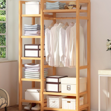 Kệ Tủ treo quần áo đa năng xếp gọn Tâm House KT014