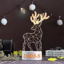 Đèn Ngủ Trang Trí LED 3D Mẫu Mới Tâm House D003-5