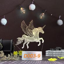 Đèn Ngủ Trang Trí LED 3D Mẫu Mới Tâm House D003-9