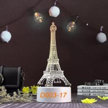 Đèn Ngủ Trang Trí LED 3D Mẫu Mới Tâm House D003-17