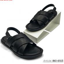 Dép Sandal nam 861-6103 Bata màu đen