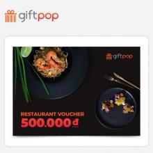 Phiếu quà tặng Ẩm Thực 500k