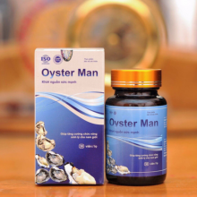 Tinh chất hàu Oyster Man tăng cường sinh lý nam giới, cải thiện yếu sinh lý, xuất tinh sớm (hộp 30 viên)