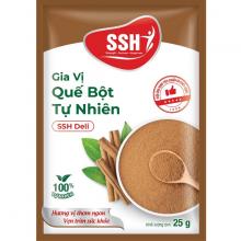 Gia vị quế bột tự nhiên SSH Deli - Hàng chính hãng