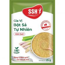 Gia vị bột sả tự nhiên SSH Deli - Hàng chính hãng