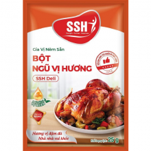 Hộp KINH TẾ 30 gói - Gia vị nêm sẵn bột ngũ vị hương SSH Deli - Hàng chính hãng
