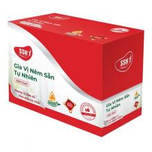 Hộp KINH TẾ 20 gói - Gia vị nêm sẵn sốt vang SSH Deli - Hàng chính hãng