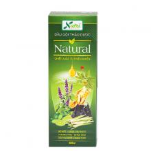 Dầu xả thảo dược Natural Vinanutrifood phục hồi tóc khô xơ chẻ ngọn, giúp tóc mềm mượt, sạch bã nhờn