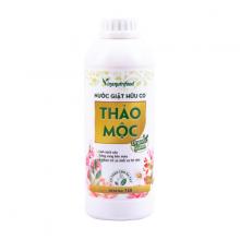 Nước giặt thảo mộc Organic Green Vinanutrifood không chất hóa học không gây kích ứng an toàn với làn da