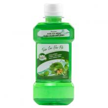 Combo 5 chai nước súc miệng Organic trầu cau bạc hà