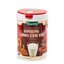 Sữa bột Ginseng Linh Chi Đỏ Vinanutrifood chứa DHA, Omega3, Choline bổ sung sắt, kẽm, magie 900g