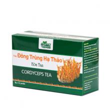 Combo 5 hộp Trà đông trùng hạ thảo Vinanutrifood T03, hỗ trợ ngăn ngừa ung thư, tăng cường sức đề kháng